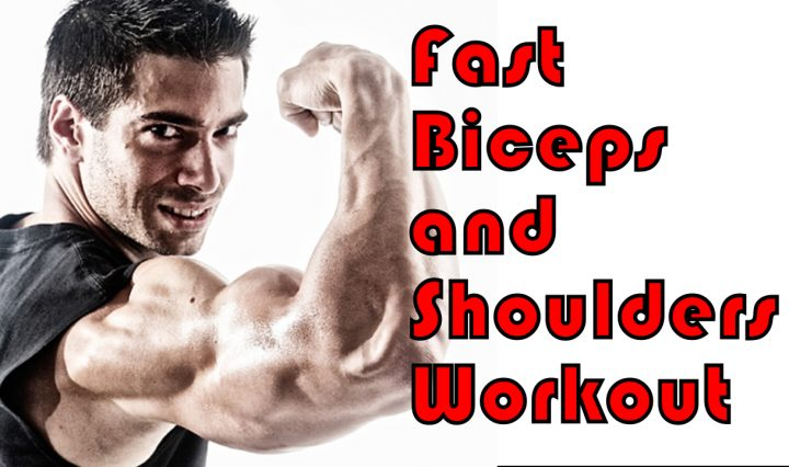Fast Biceps and Shoulders Workout