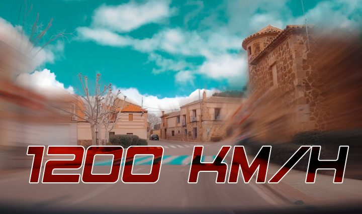 Dashcam Fast Travel. From Layos (Toledo) to Valladolid at the speed of sound.